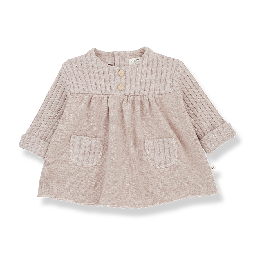 1+ in the Family - Cintia Blouse - Nude