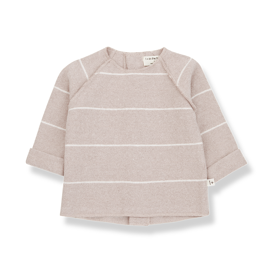 1+ in the Family - Gaspard Langarm Shirt  Nude
