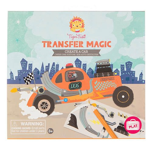 Bertoy - Transfer Magic - Create a Car